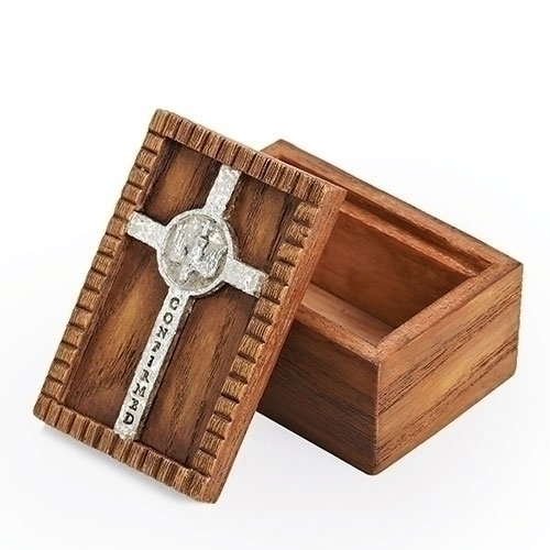 Wooden confirmation box