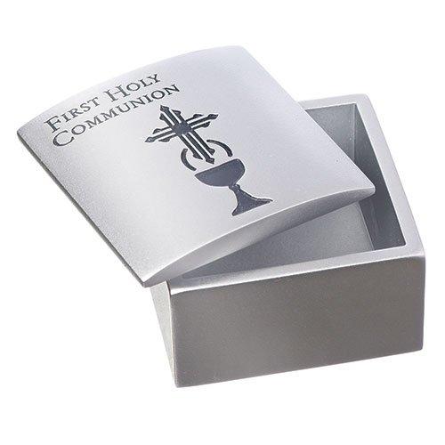 Silver communion box