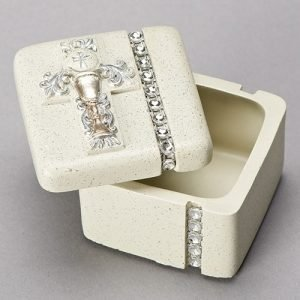 Silver communion box