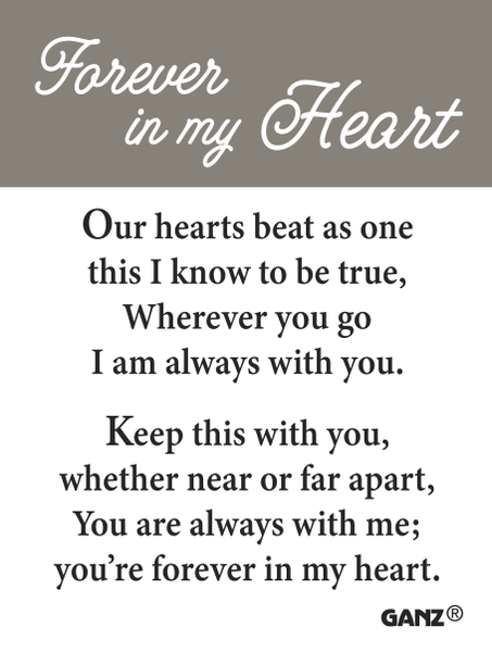 Forever in my Heart Stone Card